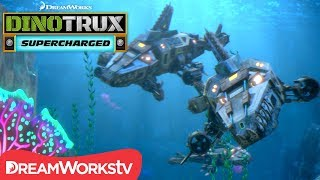 Aquadon Attack! | DINOTRUX SUPERCHARGED