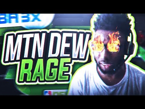 HE REALLY DID THIS!? I THREW MY PS4 CONTROLLER! MOUNTAIN DEW 3x TOURNAMENT RAGE!!! NBA 2K18