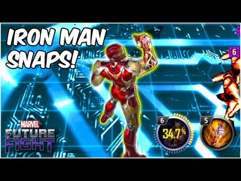 IRON MAN ENDGAME BUFFS! THE SNAP! A HEAL?! & MORE - Marvel Future Fight