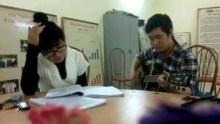 Viên Đá Nhỏ - Thanh Mai - (Guitar cover) CLB Guitar THPT Vân Nội 4/1/2014