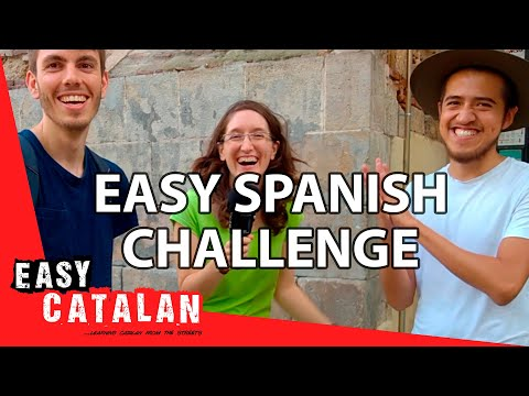 Can a Mexican understand Catalan? - Challenge with Easy Spanish | Easy Catalan 3