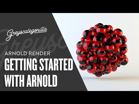 Getting Started With Arnold For Cinema 4D