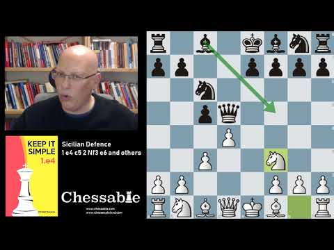 Siclian 1 e4 c5 2 Nf3 e6 and others FREE PREVIEW