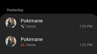 Pokimane Called me in Real Life!