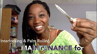 Interlocking & Palm Rolling Maintenance for Dreadlocks