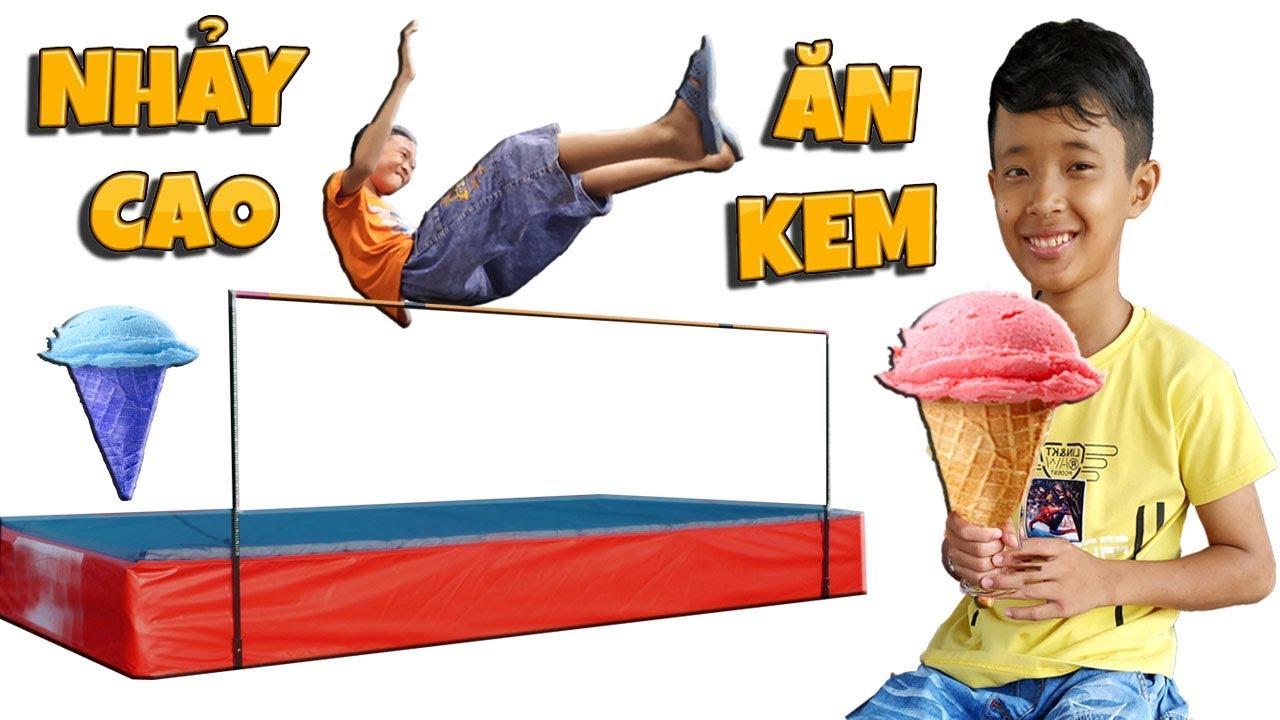 Tony   Cuộc Thi Nhảy Cao Ăn Kem Tươi - Jump high Get IceCream