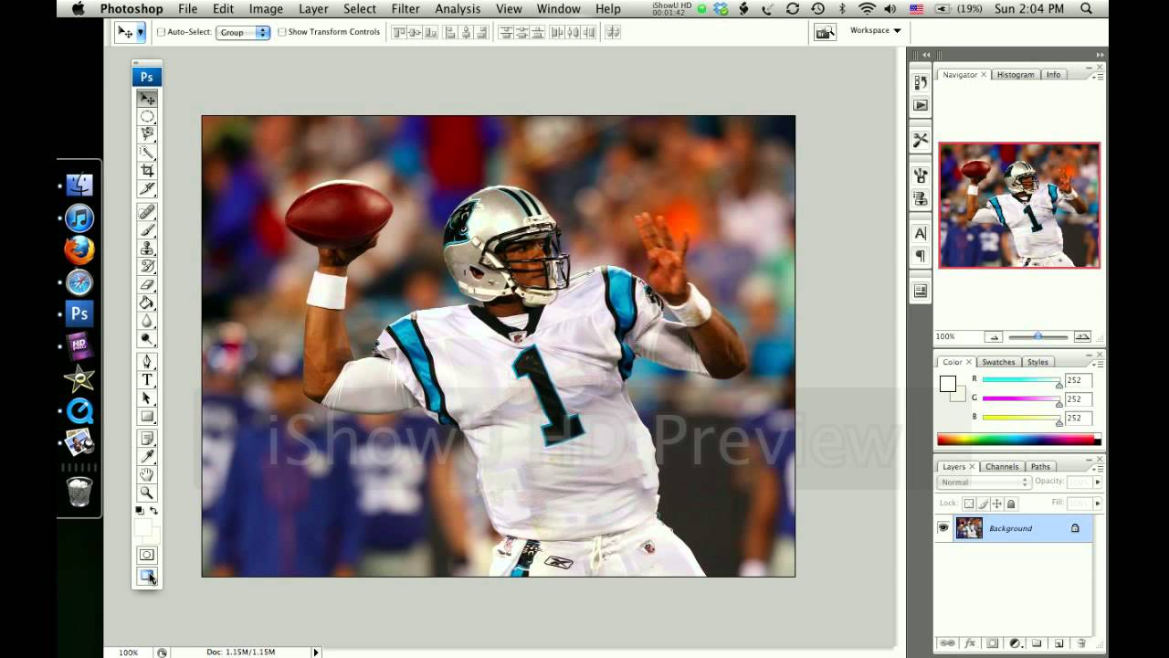 Nfl Football Player Cartoon Edits: How To Make A Cool Nfl Player Edit In Photoshop