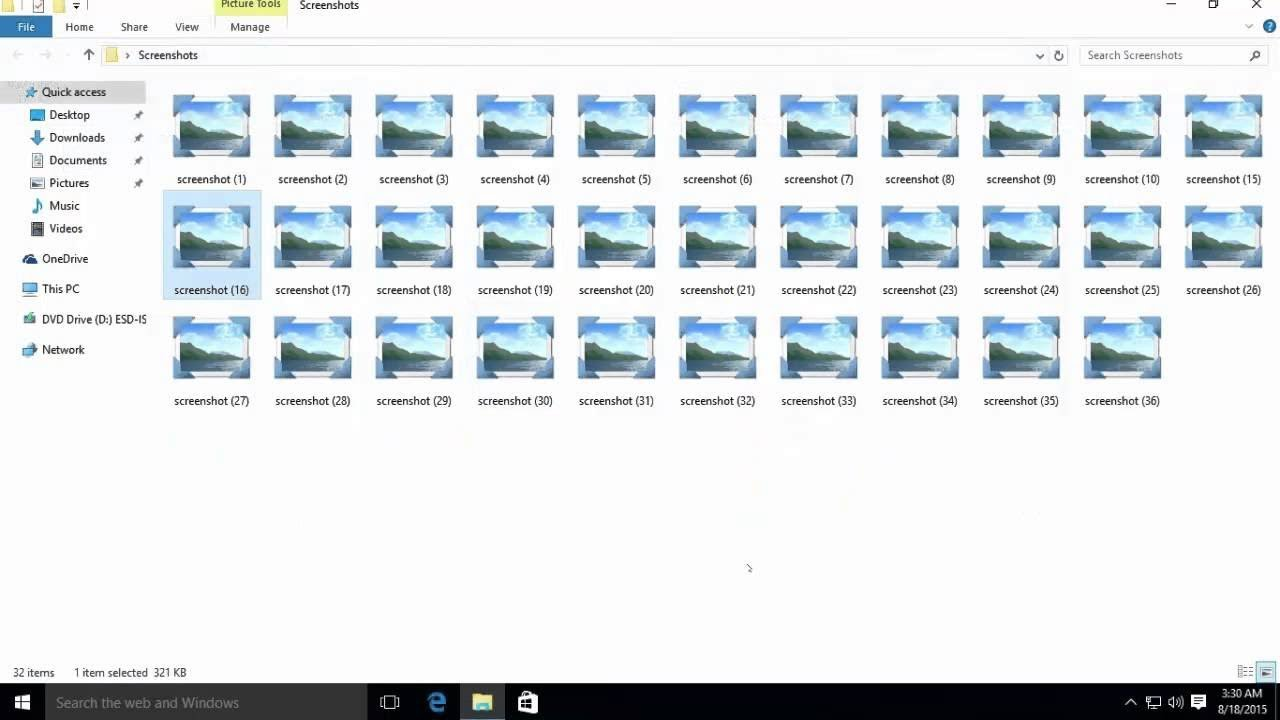 How to Enable Thumbnail View for Files in Windows