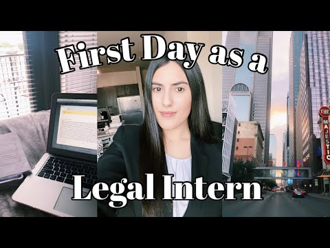 LAW SCHOOL VLOG: FIRST DAY AS A LEGAL INTERN + SEMESTER THOUGHTS?!