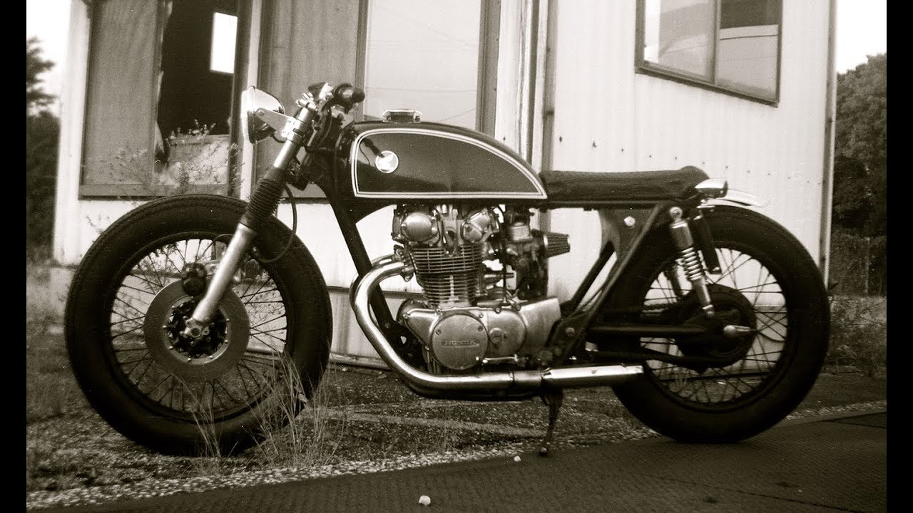 1975 Honda CB450 500 Cafe Brat
