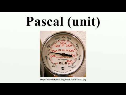 Pascal (unit)