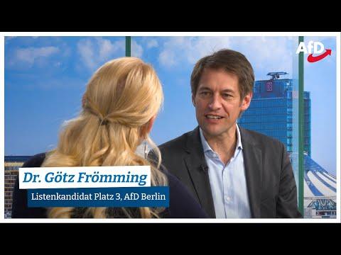 28.08.2021 AfD persönlich: Dr. Götz Frömming