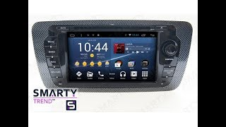 The SMARTY Trend head unit for Seat Ibiza.