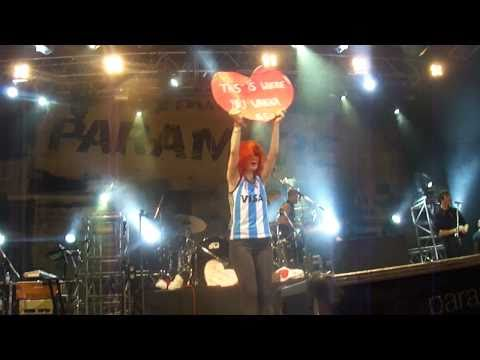 Paramore Argentina Misery Business HD