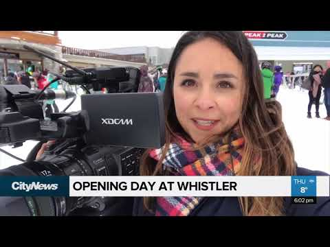 Opening day at Whistler Blackcomb