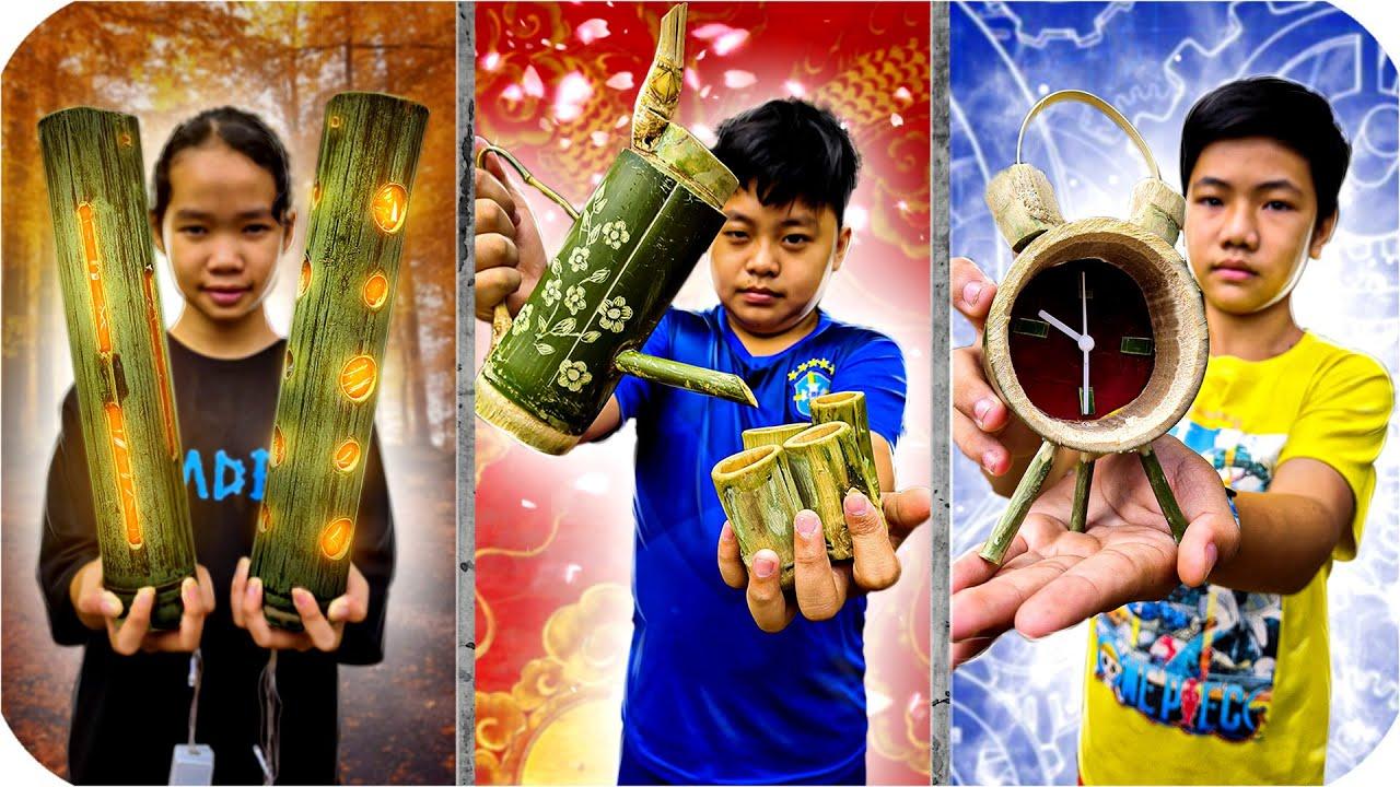 Tony   Thử Thách Chế Tạo Cả Thế Giới Từ TRE – Bamboo Handmade