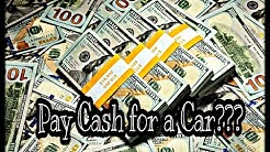 Should you Finance a Car or Pay Cash??