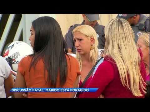 Discussão entre casal acaba com morte da esposa e marido foragido em São Paulo
