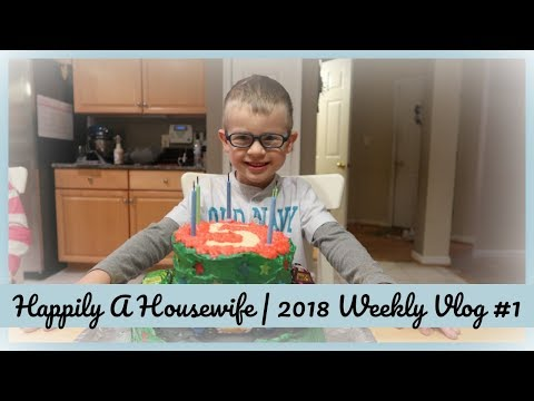 A NEW YEAR! | HAPPILY A HOUSEWIFE WEEKLY VLOG #1