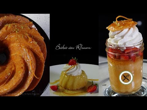 Baba au Rhum Recipe – Bruno Albouze – THE REAL DEAL