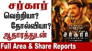 Sarkar HIT or FLOP ? Box Office Full Shocking reports   Thalapathy Vijay 63