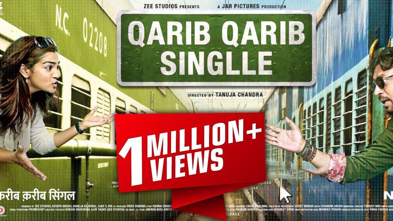 Download Qarib Qarib Single (करीब करीब सिंगल) Bollywood Full Movie Promotion Video Irfan Khan,Parvathy,Tanuja
