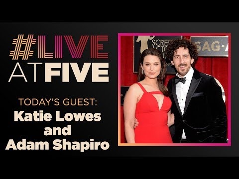 Broadway.com LiveatFive with Katie Lowes and Adam Shapiro of WAITRESS
