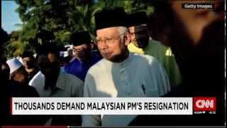 Malaysia Tens Of Thousands Demand PMs Resignation Over A 700m Donation Scandal