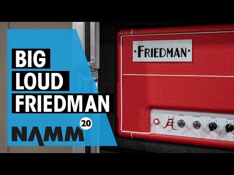 Friedman NAMM 2020 | New Twin Sister, Jake E. Lee And Steve Stevens Amps | Thomann
