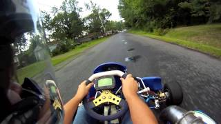 Shifter Kart On A Wet Road