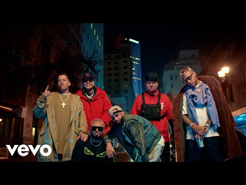 Смотреть клип Alex Sensation, Myke Towers, Jhay Cortez Ft. Arcangel, De La Ghetto, Darell - La Calle