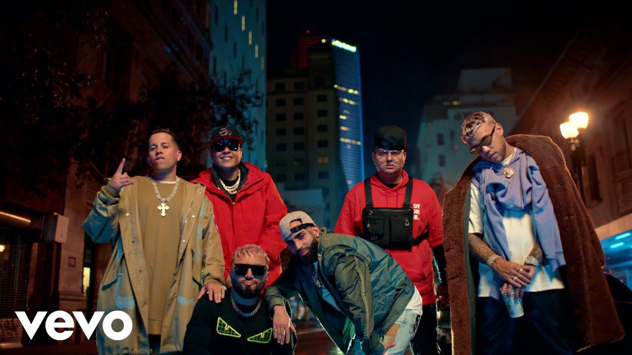 Alex Sensation, Myke Towers, Jhay Cortez - La Calle ft. Arcangel, De La Ghetto, Darell