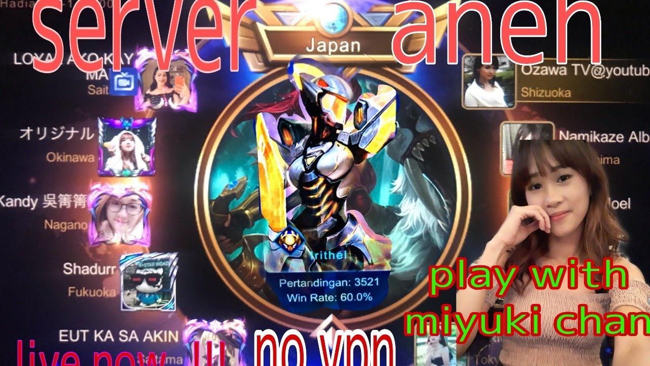 Road mythical Glory Server JEPANG