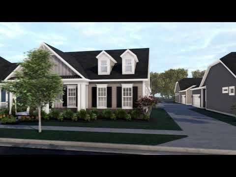Retreat At Carriage Hill Aerial Tour | New Homes In Liberty Township, OH