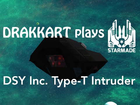 StarMade: Ship Release Discreet Shipyards Inc. Type-T Intruder