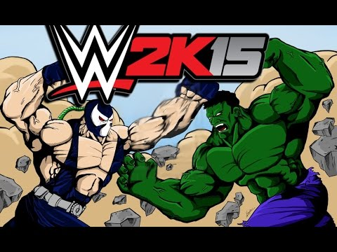 WWE 2K15 - Hulk-vs-Bane (CaRtOoNz-vs-H2O Delirious)
