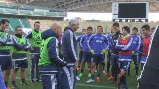 【キリンチャレンジカップ vsチュニジア代表】 3/26 試合前日公式トレーニング