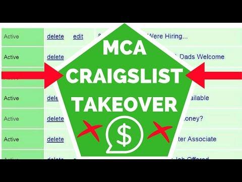 MCA Craigslist Takeover Training 2017
