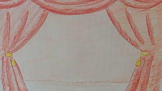 draw a curtain