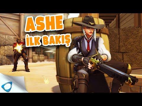 Overwatch Ashe İlk Bakış