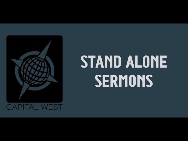 Stand Alone:  Graduation Sunday