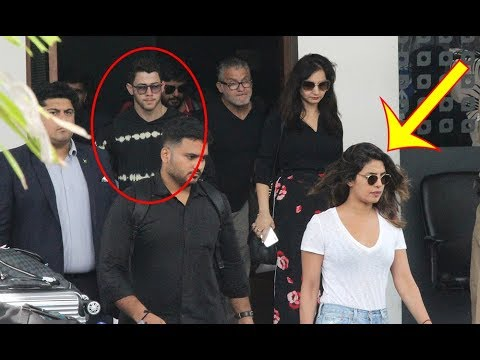 Upset Priyanka Chopra Ignores BF Nick Jonas At Airport As They Arrive From Goa
