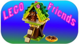 Lego 41017 Squirrel's Tree House Lego Friends Series 1 Review