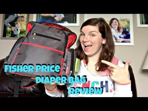 Fisher Price - Backpack Diaper Bag Review