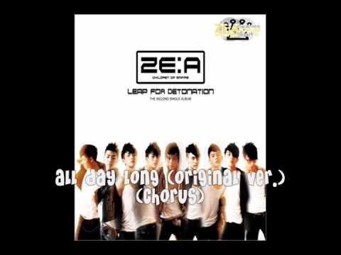 [RINGTONE] ZE:A (제아) - Leap For Detonation Single