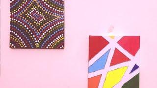 DIY Canvas Paintings!!