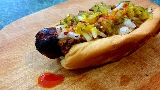 How To Make Buffalo Style Texas Chili Dogs!