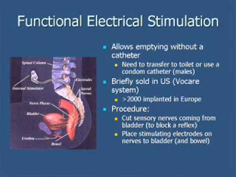 Management of Urinary Problems Caused by Spinal Cord Injury