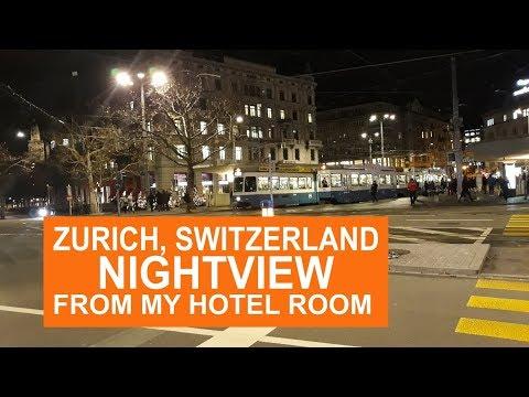 Night Scene in Zurich, Switzerland - an incredible city