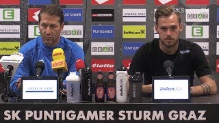 SK Sturm: Mediabriefing vor Admira Wacker (35. Runde 2016/17)